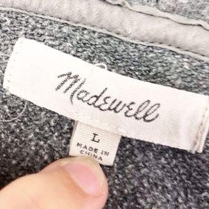 Madewell Tops - madewell | messenger zip front hoodie sz L